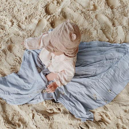 Otulacz niemowlęcy jodelka szary - Petite Laure