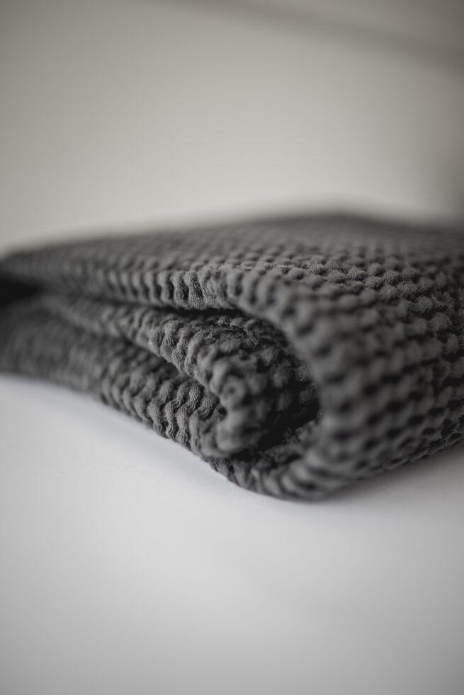 Linen baby blanket
