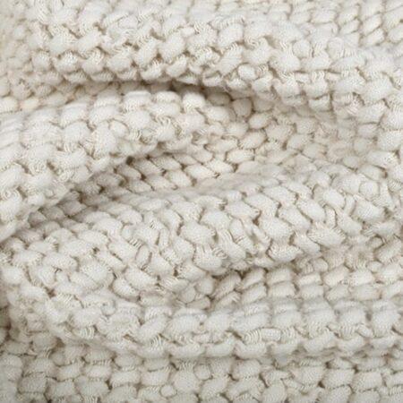 Waffle linen baby blanket