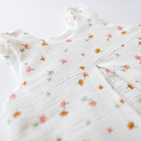 """Baby sleeping bag - leaves off- white size """"S"""""""