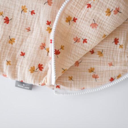 Baby Sleeping Bag - Leaves Beige Size