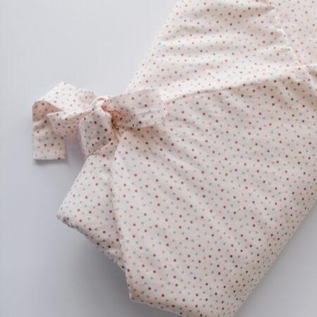 Rożek niemowlęcy w kropki